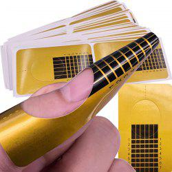 Nail Beauty Sticker Tool Extension Accessory Paper Holder 100PCS -