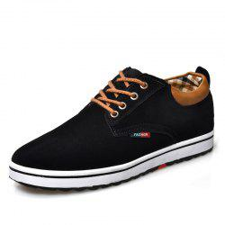 Retro Comfortable Lace-up Casual Shoes -