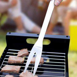 Stainless Steel Outdoor Tool Barbecue BBQ Fork -