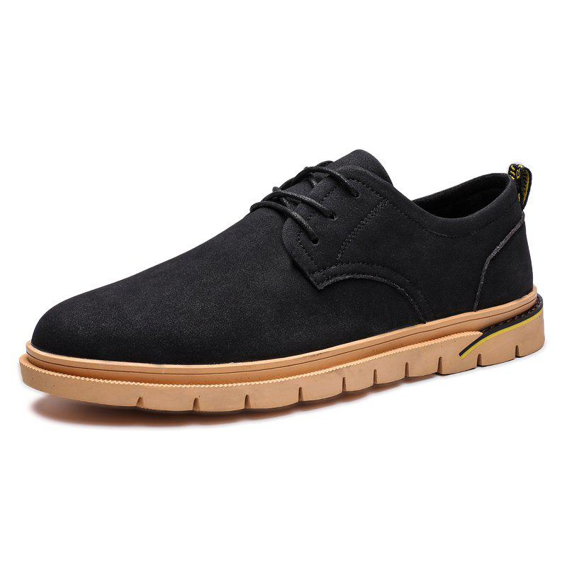 Discount Stylish Anti-slip Lace-up Casual Shoes for Men