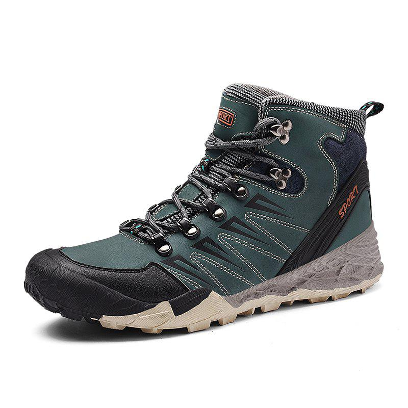 Online Outdoor Fashion Warm Comfortable High-top Boots for Men