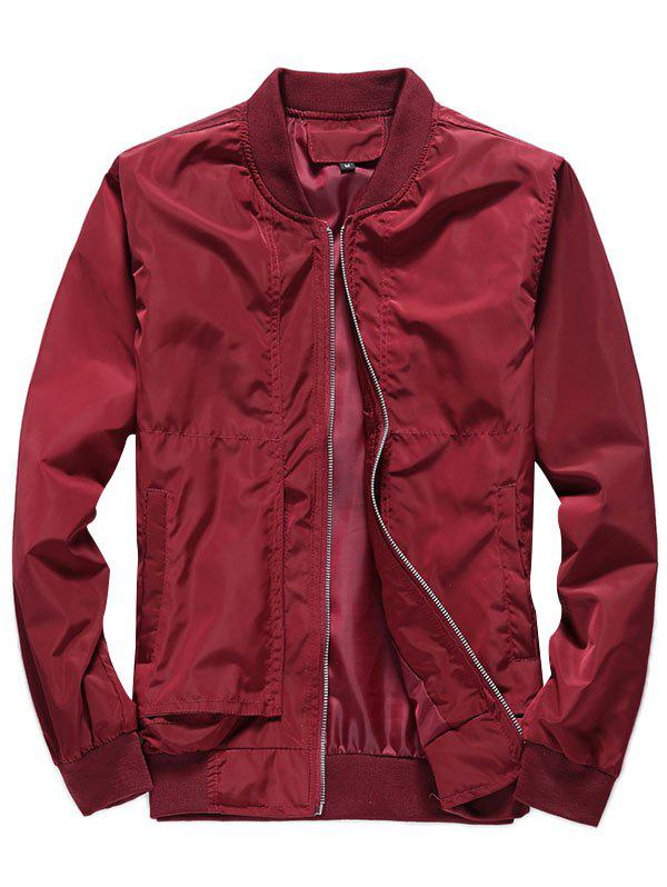 Online Leisure Stylish Solid Color Jacket