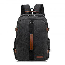 Fashionable Leisure Canvas Backpack -