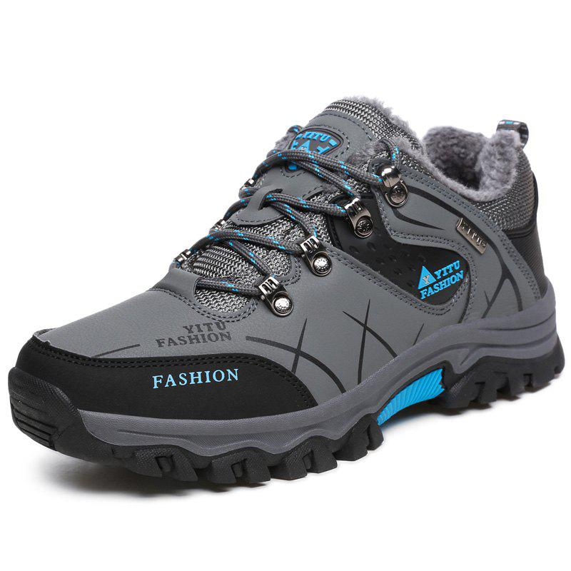 9e7fc877d755 2019 Men Outdoor Shock-absorbing Water-resistant Warm Hiking Shoes ...