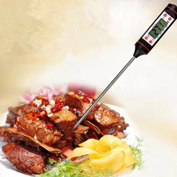 Latest TP101 Home Cooking BBQ Food Thermometer with Stainless Steel Probe