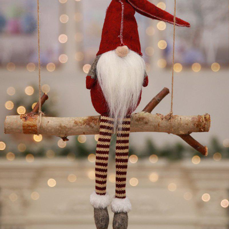 Affordable European Christmas Santa Claus Pendant Window Display for Decoration