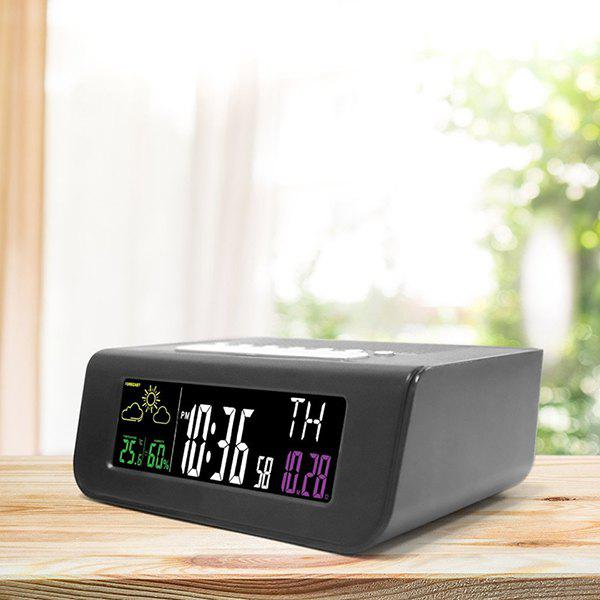 Cheap Digital Colorful Screen Alarm Clock FM Radio for Sleep Timing