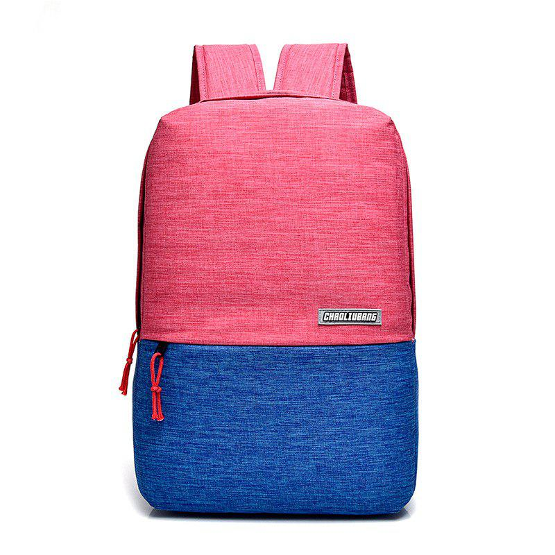 Fashion Meiletoo Business Matching Color Backpack