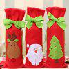 Christmas Wine Bottle Cover Bag for Home Party Decoration -