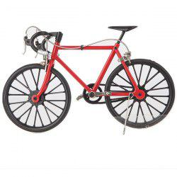 DIY Simulation Alloy Mountain / Road Bicycle Model Set Decoration Gift Toy -
