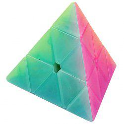 Qiyi Jelly Pyraminx Magic Cube for Children -