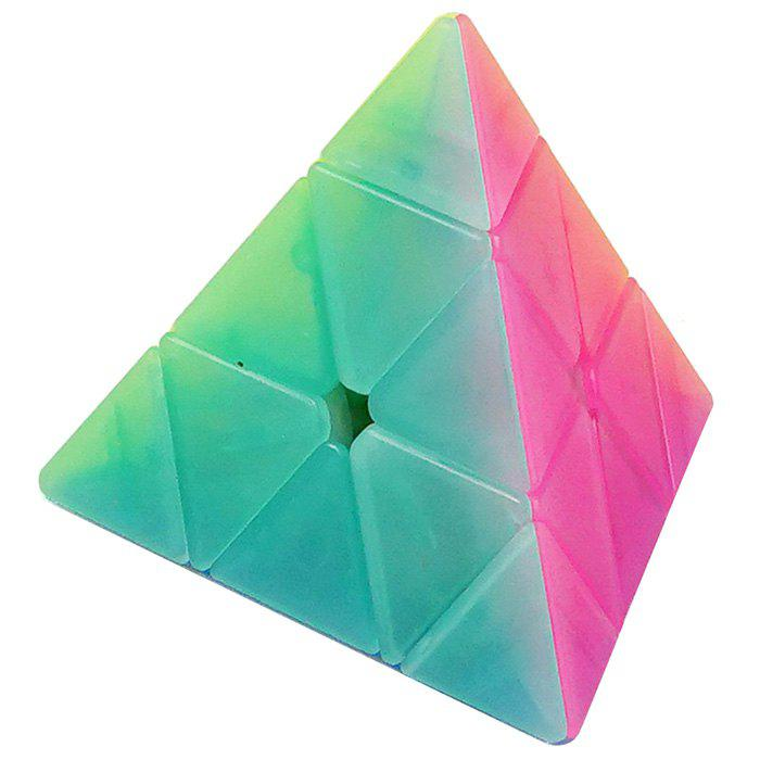 Shop Qiyi Jelly Pyraminx Magic Cube for Children