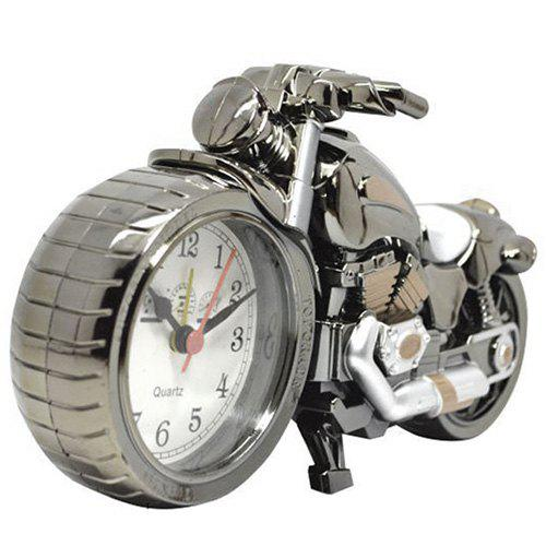 Outfits Creative Retro Motorcycle Alarm Clock Gift Desk Ornament