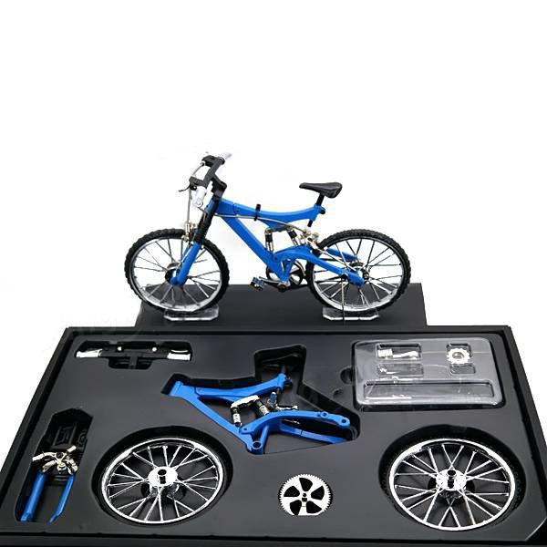 Outfit DIY Simulation Alloy Mountain / Road Bicycle Model Set Decoration Gift Toy