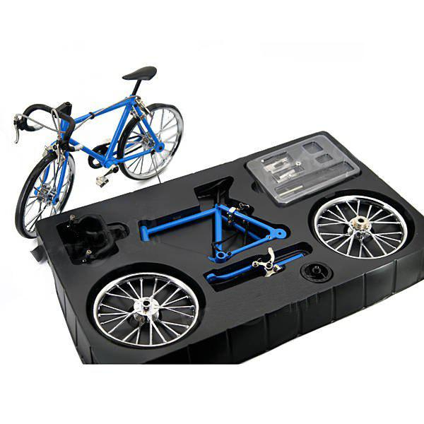 Latest DIY Simulation Alloy Mountain / Road Bicycle Model Set Decoration Gift Toy