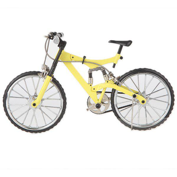 New DIY Simulation Alloy Mountain / Road Bicycle Model Set Decoration Gift Toy