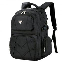 SOCKO Fashionable Backpack with USB Port -