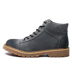 Stylish Anti-slip Comfortable High-top Classic Boots for Men -