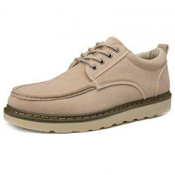 Men's Low-top Martin Round Head Casual Shoes -