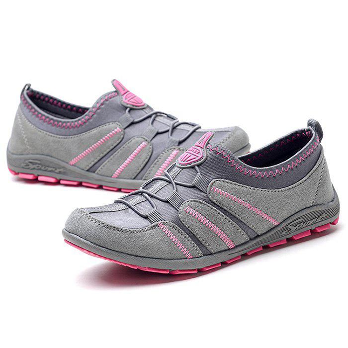 Cheap Elastic Breathable Flat Shoes for Women