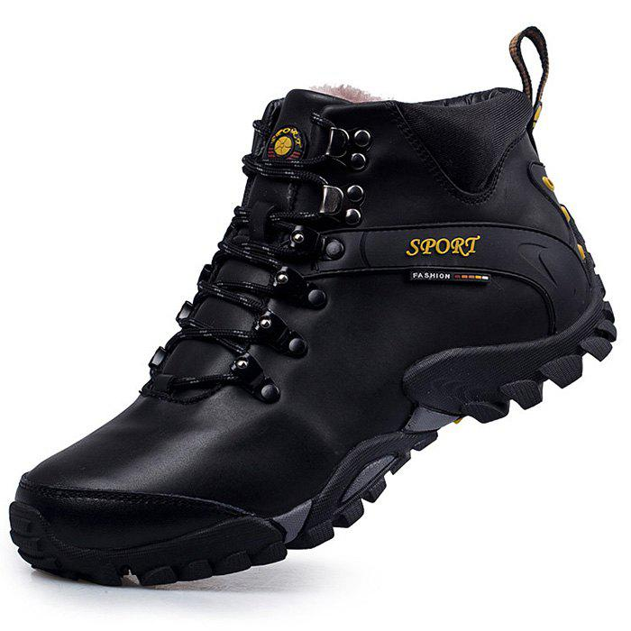 Fancy Men's Plus Size High-top Warm Boots
