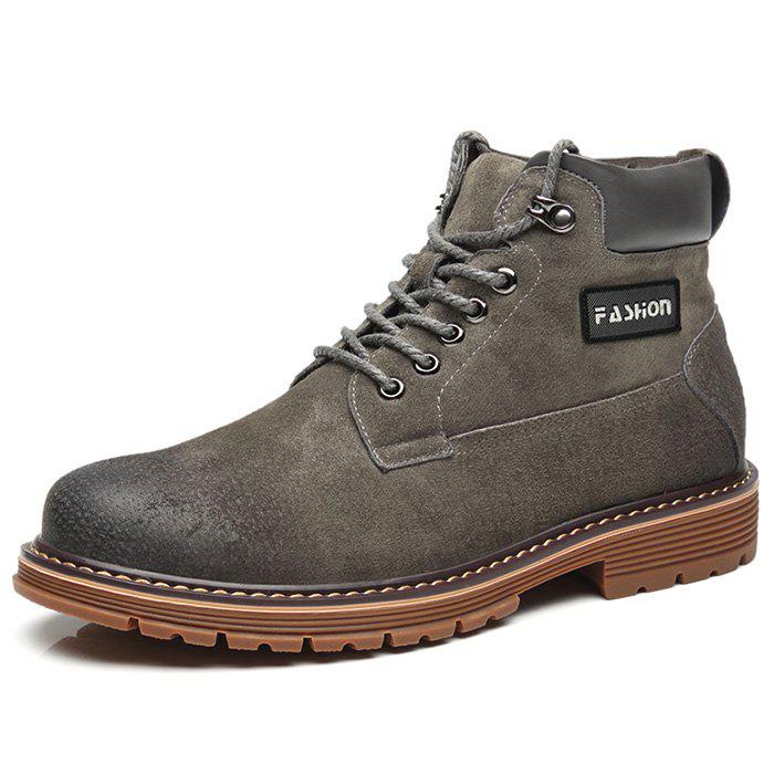 Latest Men's High-top New Casual Martin Boots