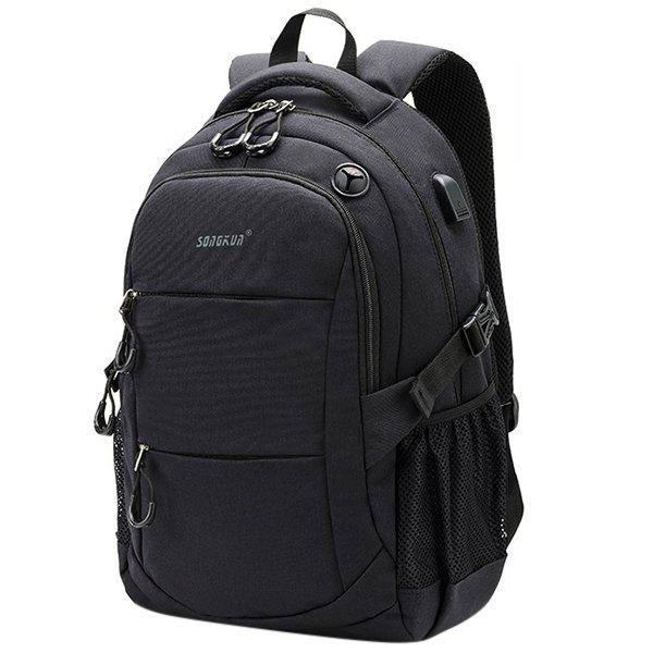 New SONGKUN Multifunctional Anti-theft Large Capacity Leisure Backpack for Men