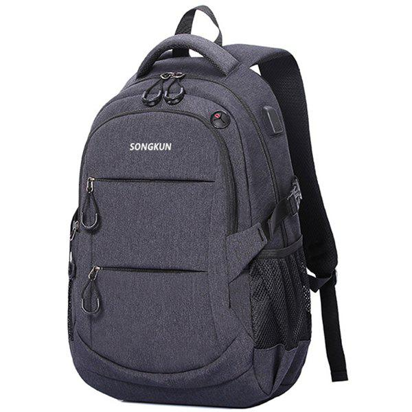 Outfits SONGKUN Multifunctional Anti-theft Large Capacity Leisure Backpack for Men