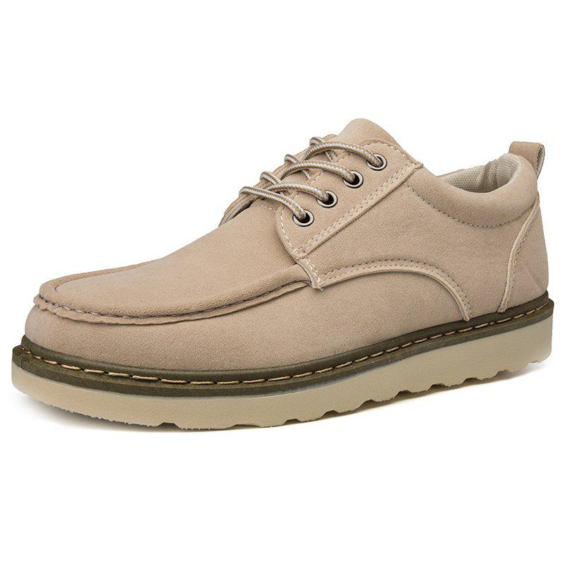 Outfits Men's Low-top Martin Round Head Casual Shoes