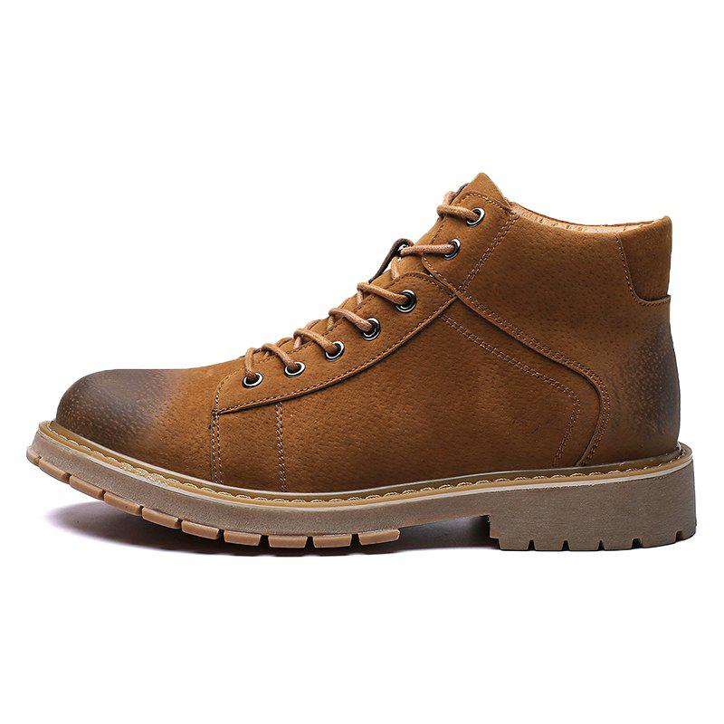 Trendy Stylish Anti-slip Comfortable High-top Classic Boots for Men