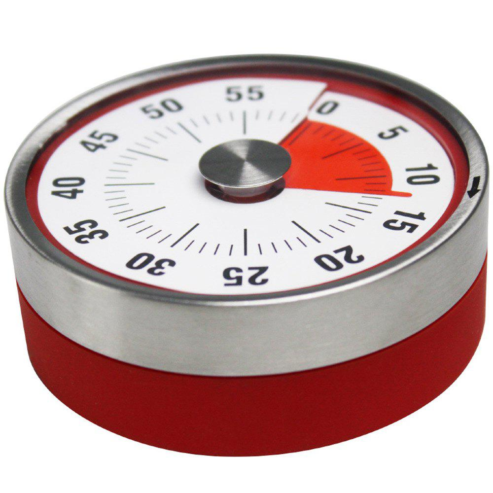 8 x 3 cm Kitchen Timer Stainless Steel Alarm Cooking Tool