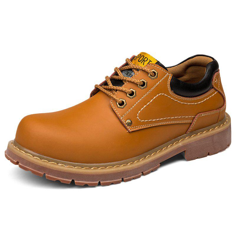 Affordable Stylish Wear-resistant Low-top Lace-up Casual Shoes Boots for Men