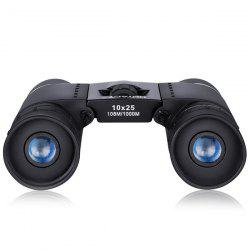 HUTACT 10 x 25 Portable High-definition Anti-slip Children Binocular Telescope -