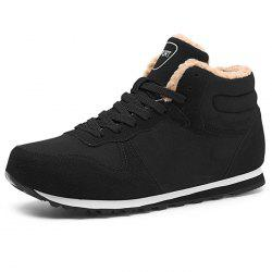 Leisure Warm Mid-high Boots for Men -