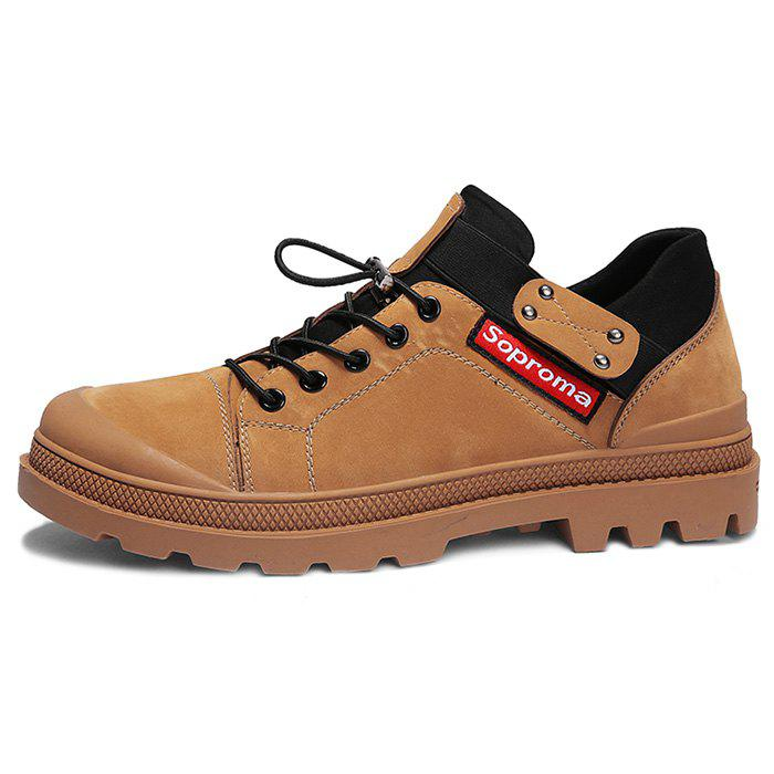 Online Men's Fashion and Leisure Boot