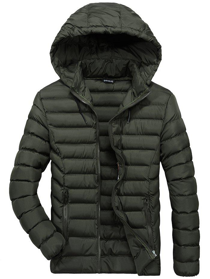 Online JOOBOX1 Hoodied Casual Coat for Men