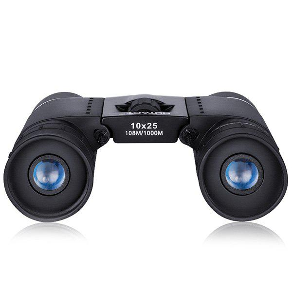 Latest HUTACT 10 x 25 Portable High-definition Anti-slip Children Binocular Telescope