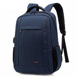 POSO Business Water-resistant Large Capacity Laptop Backpack with USB Port -