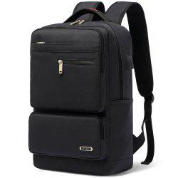 Leisure Business Large Capacity Travel Laptop Backpack with USB Port -