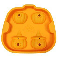 Multifunction 3D Halloween Pirate Pumpkin Chocolate Mould -