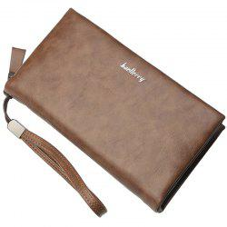 Baellerry Business Fashion Large Capacity Multifunctional Wallet for Men -