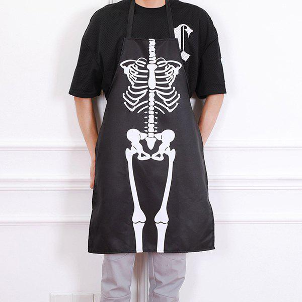 Outfit Carnival Halloween Decorative Horror Dress Apron for Bar Party Ball