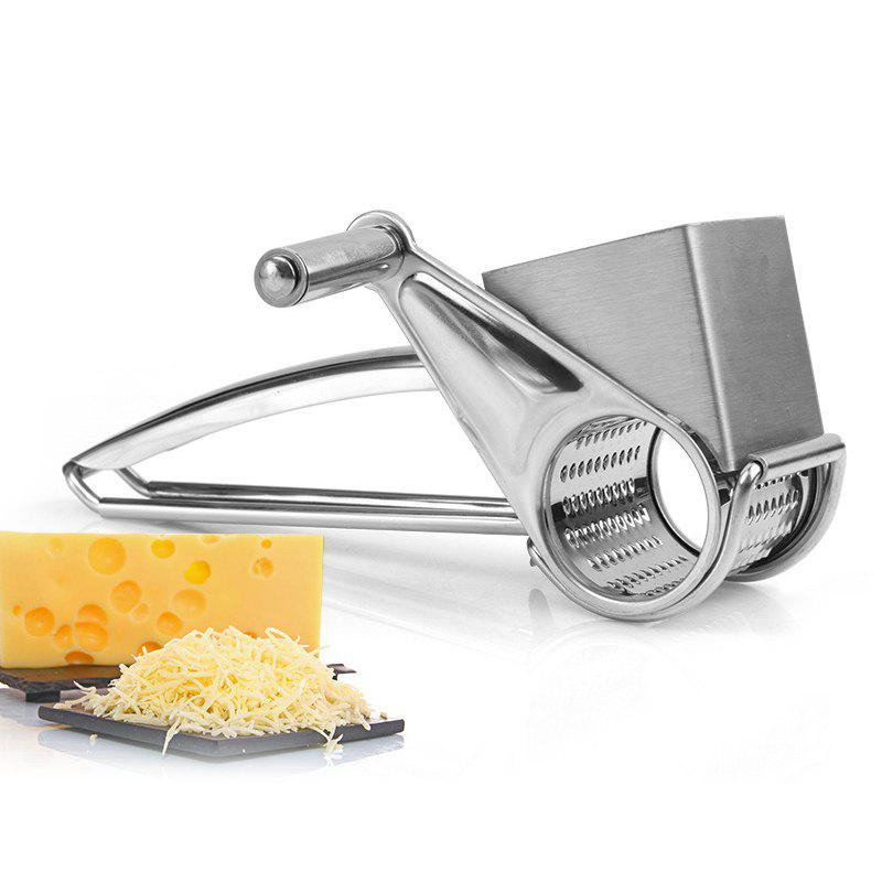 Multipurpose Rotary Cheese Grater Vegetable Cutter