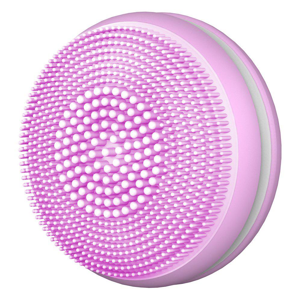 Affordable T68 Mini Macaroon Electric Silicone Ultrasonic Facial Cleansing Brush Massager