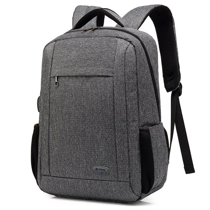 New POSO Business Water-resistant Large Capacity Laptop Backpack with USB Port
