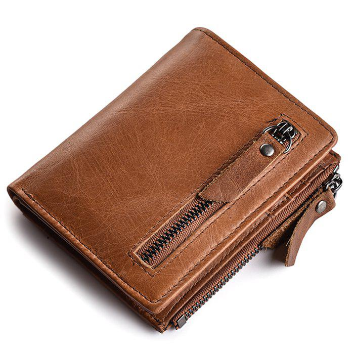 Trendy JINBAOLAI 403 Classic Wallet for Men