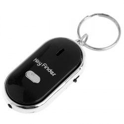 Whistle Finder Key Chain with Sound LED Light -