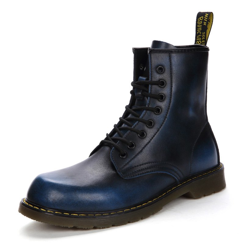 Shop Autumn and Winter Couple Martin Boots for Men