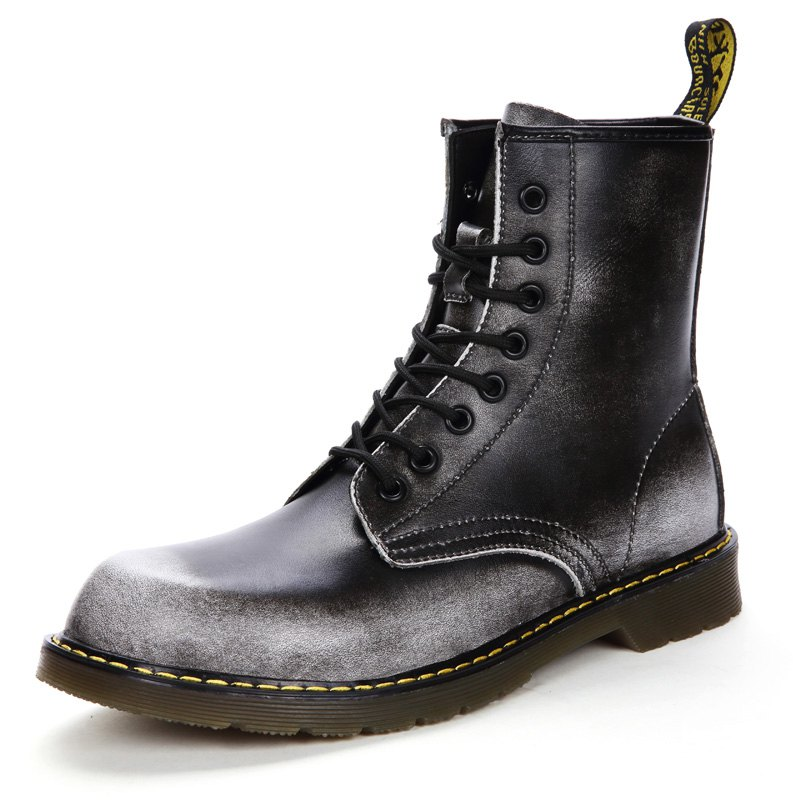 Fashion Autumn and Winter Couple Martin Boots for Men
