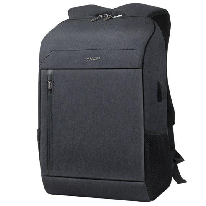 Online SONGKUN Durable Trendy Business Backpack with USB Port
